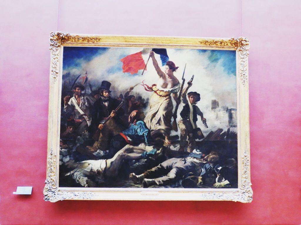 «Свобода на баррикадах» Эжен Делакруа