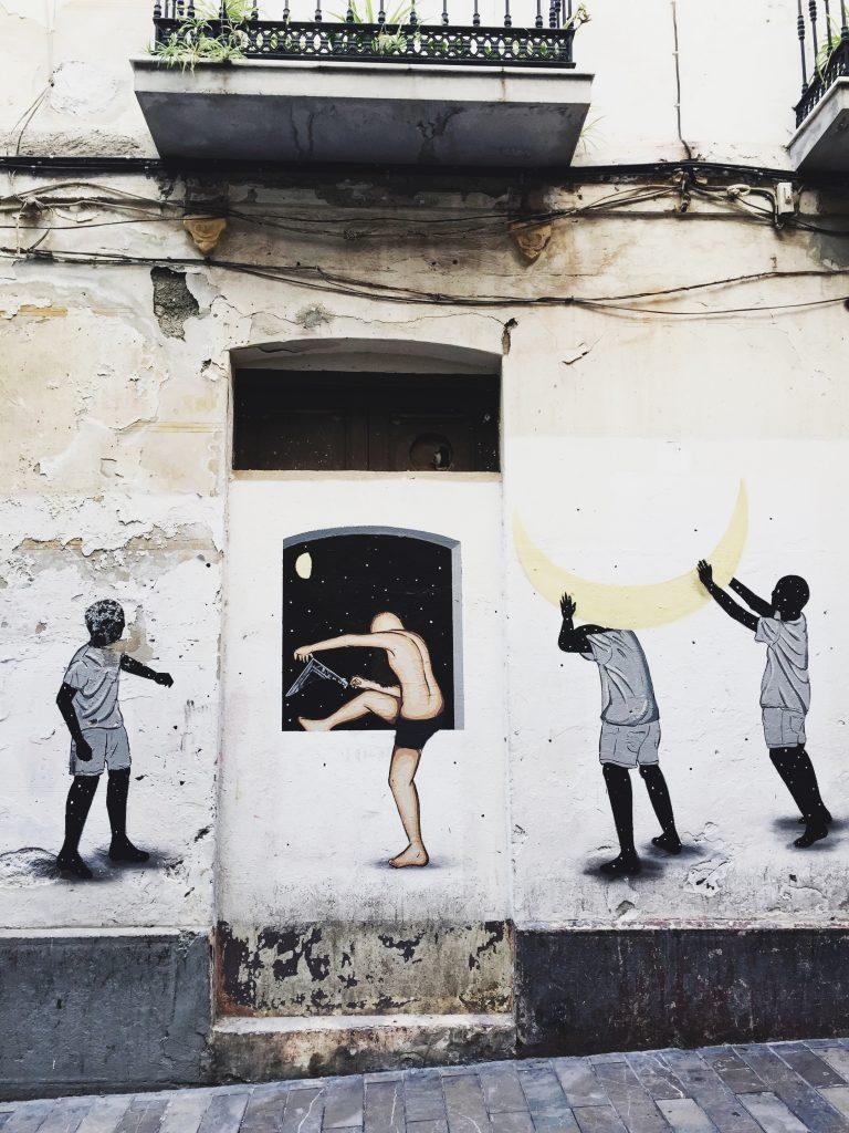 Стрит-Арт Малаги