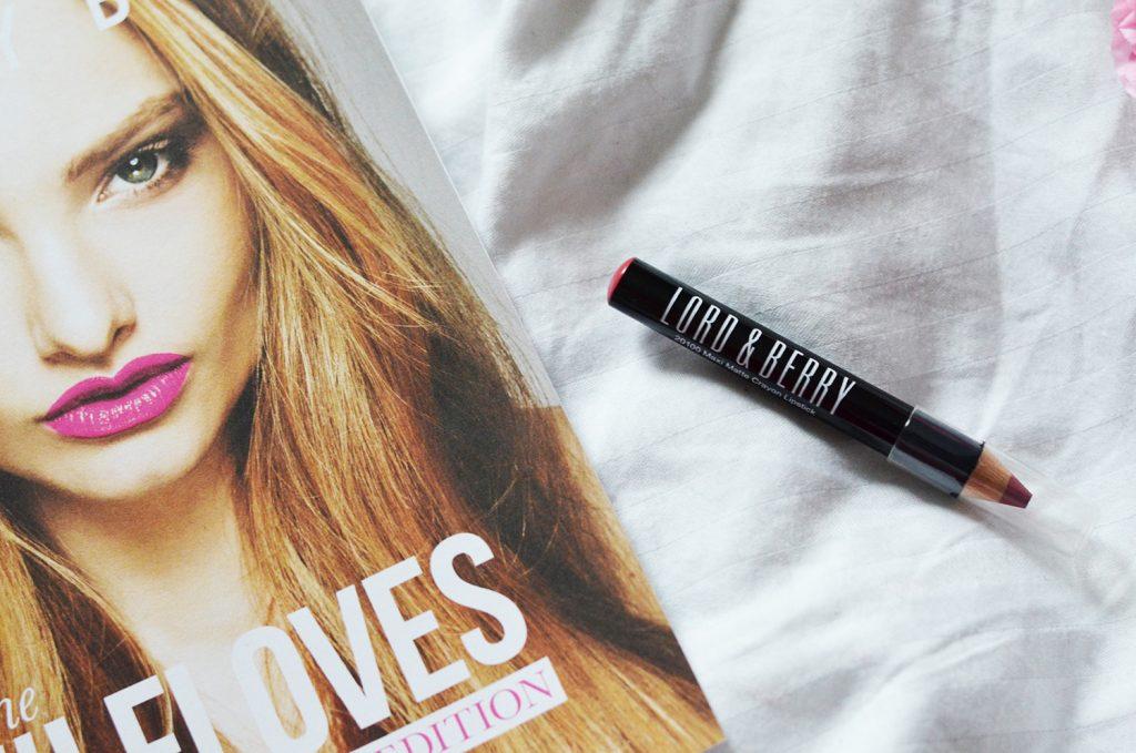 6. Lord & Berry Matte Lipstick Pencil   Sample Size
