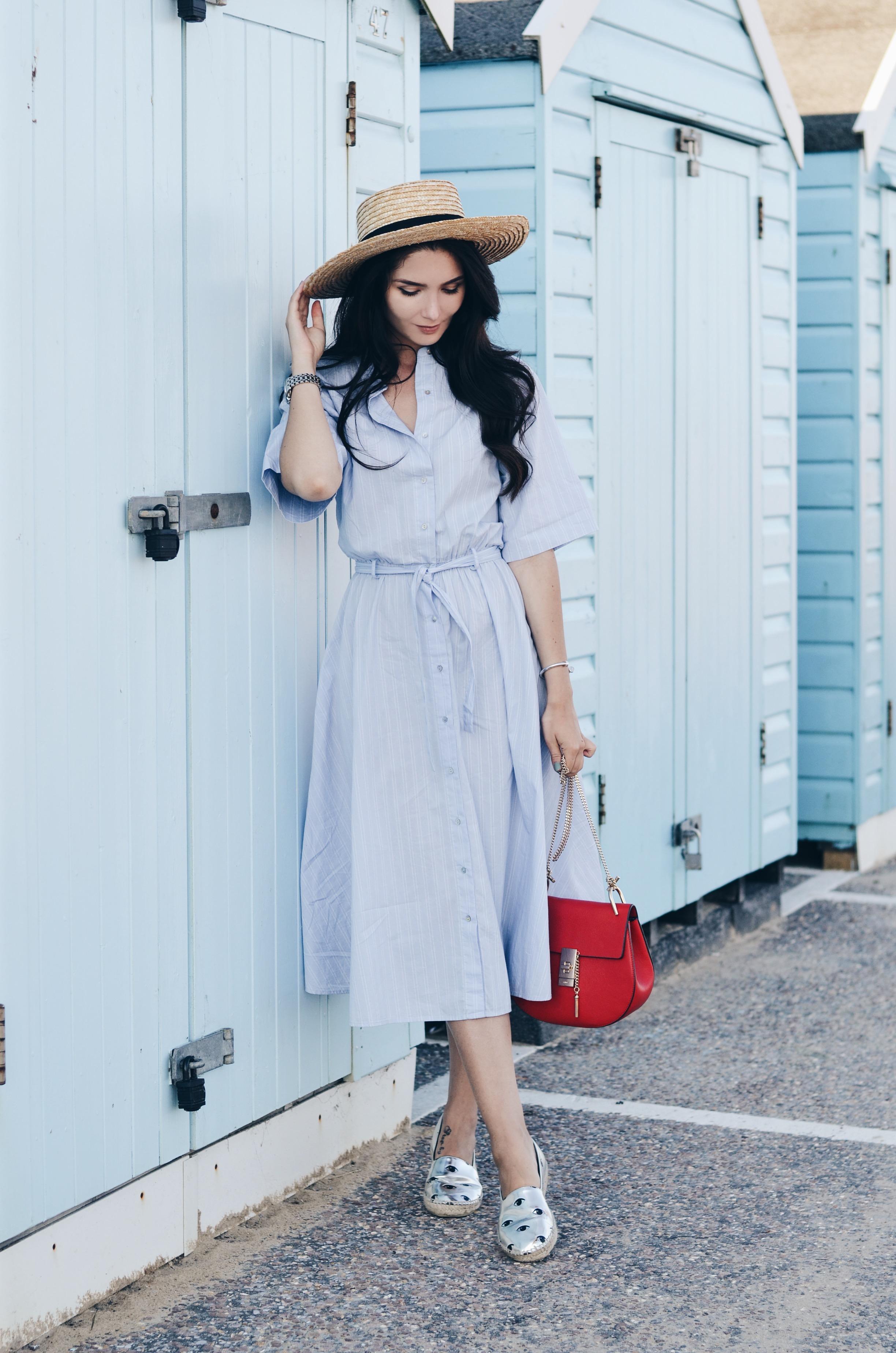 Dress: Zara | Bag; Chloe | Espadrilles: Kenzo* | Hat: H&M | Watch: Thomas Sabo | Bracelet: Tiffany&Co